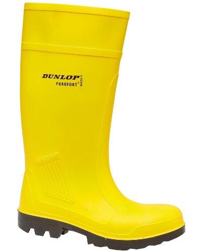 Dunlop C462241 Purofort Full Safety Standard (Gummistiefel), Größe 45, gelb