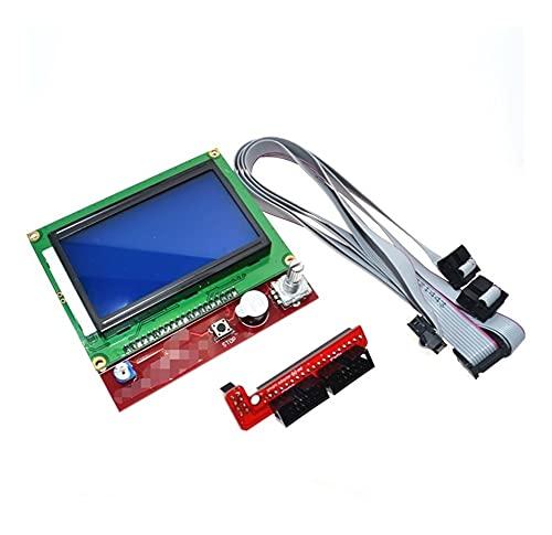 MAIO Impresora 3D Controlador Inteligente Rampas 1.4 LCD 12864 Panel de Control LCD Pantalla Azul Service