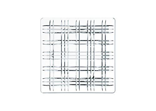 Spiegelau & Nachtmann, Servierplatte, Quadratisch, Kristallglas, Square, Größe: 28 cm, 101046