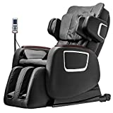 BestMassage Full Body Zero Gravity Shiatsu Massage Chair Electric Recliner 3D MassagerHeat (Black)