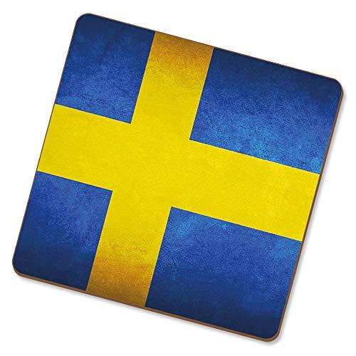eSwish Untersetzer trinken Schweden/Schwedische Nationalflaggen
