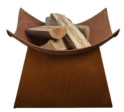 Esschert Design Rusted Steel Fire Bowl by Esschert Design USA, LLC