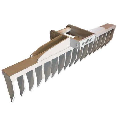Roderechen MS03 Wurzelreche Feinwurzelschneide Minibagger Rechen Breite 120cm