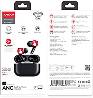 Joyroom JR-T03S Pro Wireless TWS Bluetooth Earphones with Noise Cancelling - Black