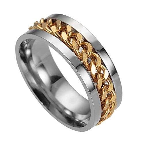 Kettingschakel Bieropener Voor Heren, Rapper Titanium Stalen Ring, Coole Heren Ring Voor Koppels, Unieke Huishoudelijke…