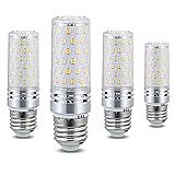 Bombilla LED tipo maíz E27 Bombillas LED de tornillo Edison de 12 W, equivalente incandescente de 120 W, ángulo de haz de 1320 lm 360 ° CA 110-120 V / 220-240 V, sin parpadeo, no regulable (paquete de