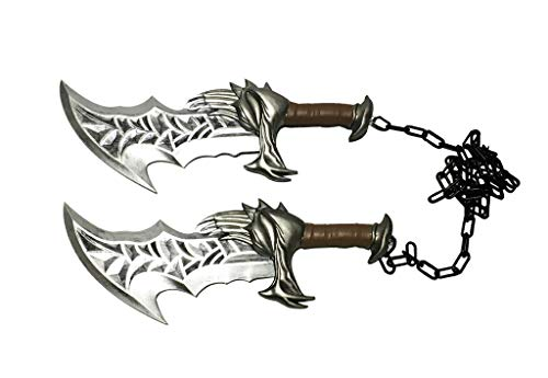 17' Medieval New Blades of Chaos Foam Cosplay Costume Party Prop 1:1 Replica