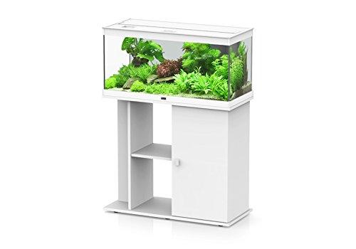 Meuble pour aquarium Style LED 80 Aquatlantis blanc
