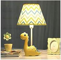 電気スタンド子供部屋漫画黄色の恐竜テーブルランプ寝室のベッドサイドランプ創造的な暖かいロマンチックなかわいい女の子の男の子装飾的なテーブルランプ