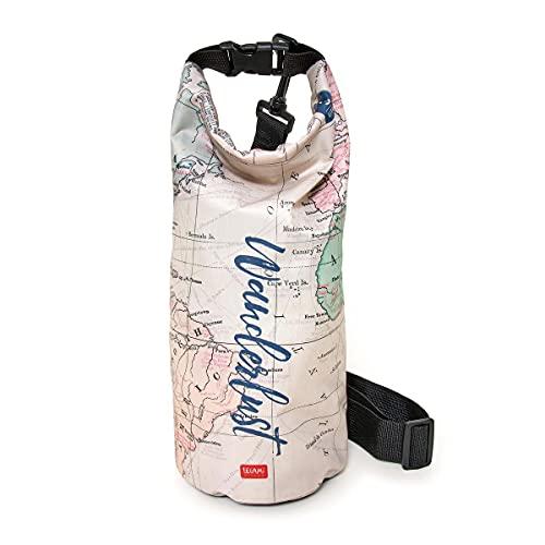 AFK Dry Bag - Bolsa impermeable exterior de poliéster, interior de PVC, 3 litros, para viajes, playa, unisex, verano 2021