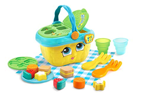 LeapFrog Shapes and Sharing Picnic Basket (Frustration Free Packaging), Yellow