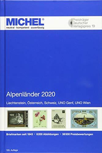 Alpenländer 2020: Europa Teil 1 (MICHEL-Europa / EK)