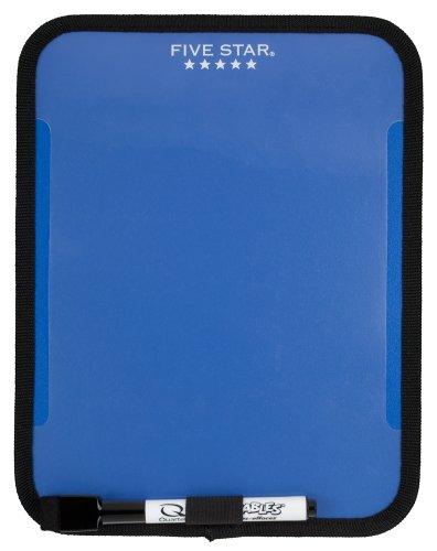 "Five Star Locker Accessories, Locker Dry Erase Board, Magnetic, Clearview, 7"" x 9"", Blue (72640)"