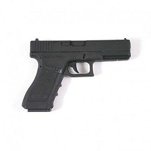 CYMA Cm030 Pistola elettrica AEP semi/automatica G18, da softair, 0,5 joule, nero, culatta in metallo