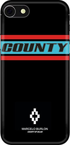 MARCELO BURLON Cover iPhone 8, 7, 6S, 6 - Color Band