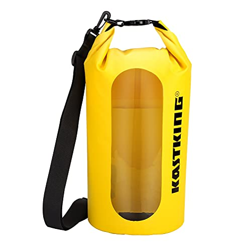 KastKing Dry Bag Waterproof Roll Top Sack for Beach, Hiking, Kayak, Fishing, Camping, and Other...