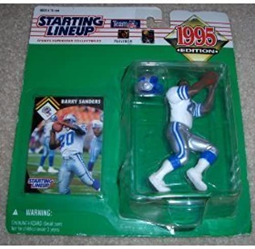 1995 Barry Sanders NFL Football Starting Lineup by Starting Line Up