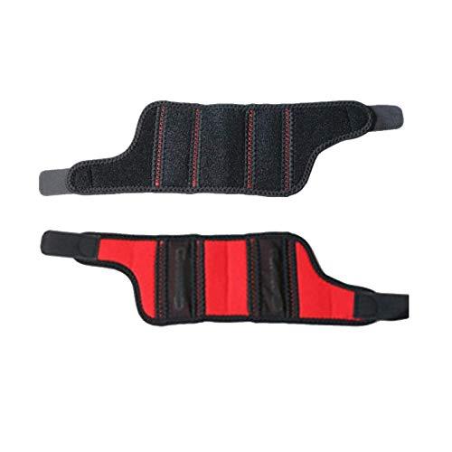 Correa de compresión de muñeca Unisex Sport Wristband ajustable Soporte elástico tela