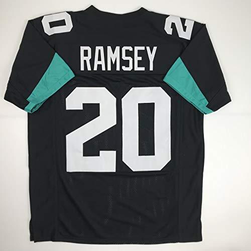 Unsigned Jalen Ramsey Jacksonville Black Custom Stitched Football Jersey Size Men's XL New No Brands/Logos