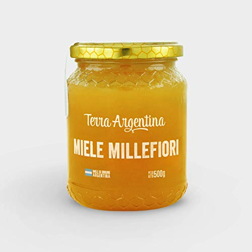 Miel premium natural Terra Argentina de Mil flores - 500gr