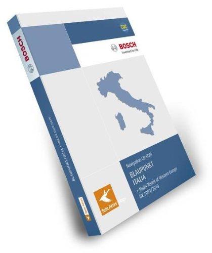 TeleAtlas Blaupunkt Italien 2009/2010 DX mit Hauptverkehrsstrassen Europas für TravelPilot DX - Plattform