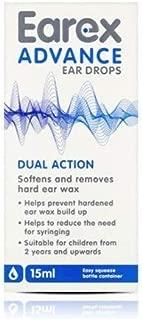 Earex Advance Ear Drops 15ml [Health and Beauty] by Chemist Direct