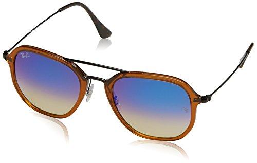 Ray-Ban 0Rb4273 Gafas de Sol, Shiny Trasparent Brown, 52 Unisex-Adulto