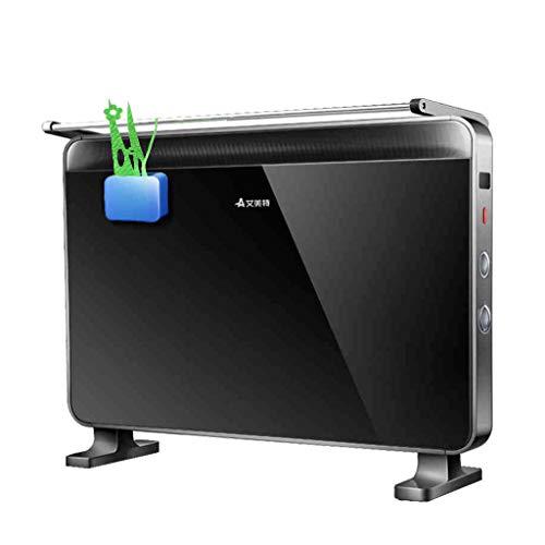 XF Calefactores y radiadores halógenos Calefactor eléctrico, radiador eléctrico, horno de calentamiento rápido, radiador para el hogar y el baño, bajo consumo de energía, impermeable, sin ruido Climat