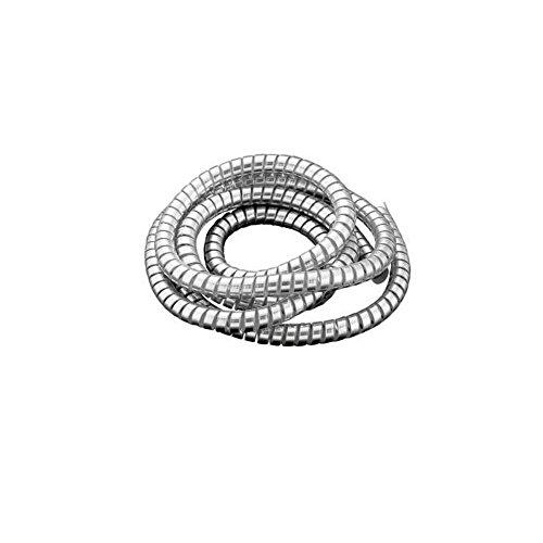 Mantel spiraal PVC chroom Ø 10,2 mm elektrische kabel