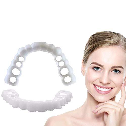 Upper & Lower Prothese Instant Smile Comfort Fit Flex Kosmetische Zähne Prothese Zähne Top Cosmetic Veneer