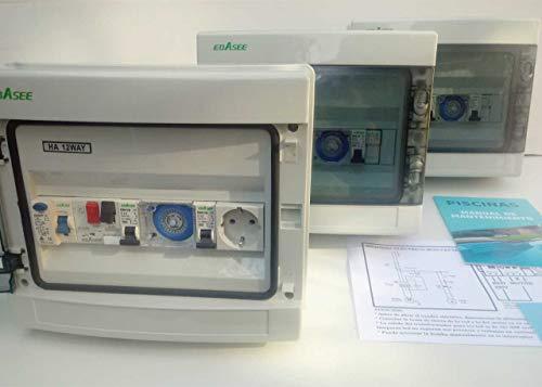 Cuadro eléctrico de Piscina hasta 1.5CV - 99€ + Regalo Libro de Mantenimiento de Piscinas