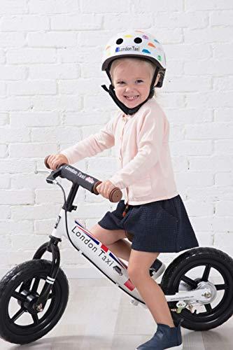 JEFFERYS (ジェフリース) London Taxi キックバイク 12型 足こぎ自転車 白
