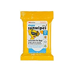 doggy sunwipes