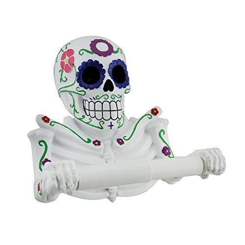 Top 10 best selling list for day of the dead skull toilet paper holder