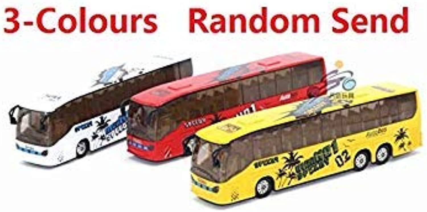 1 50 Diecast & Toy Vehicles,Alloy City Bus Toy,Metal Car Toy Model,Musical,Flashing,Pull Back,Doors Openable Bus White