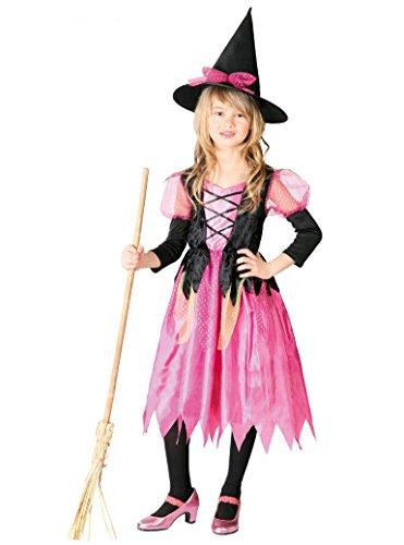 Disfraz de bruja rosita para niña - 7-9 años