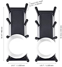 Uniko Vida The ÚNIKA System – Adjustable Kitchen Storage Drawer Modules for Dishes & Bowls Rustproof Rack Sturdy Dividers Organizer Dish Drying Rack Set