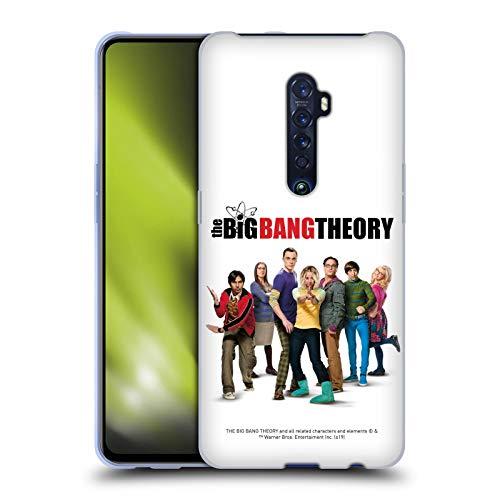 Head Case Designs Offiziell Zugelassen The Big Bang Theory Staffel 10 Schluessel Kunst Soft Gel Handyhülle Hülle Huelle kompatibel mit Oppo Reno 2