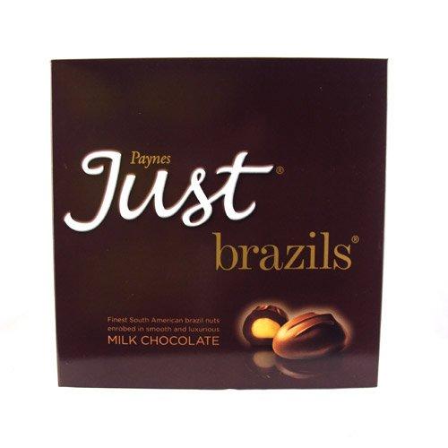 Paynes Just Brazils Milk Chocolate 180g