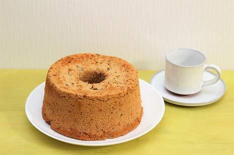 国産やオーガニックのこだわり素材で作った 磐梯シフォンケーキ(米粉100%)