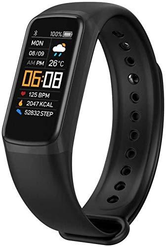 Reloj deportivo inteligente pulsera deportiva impermeable cálculo de calorías saludable gestión del sueño recordatorio de llamada adecuado para hombres y mujeres y niños