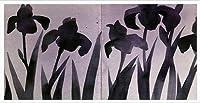 ポスター マッツ グスタフソン VISIONAIRE(ヴィジョネアー)Illustrations05 額装品 アルミ製ハイグレードフレーム(ホワイト)