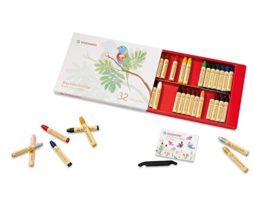 Stockmar Wax Stick Crayons 32 Colors