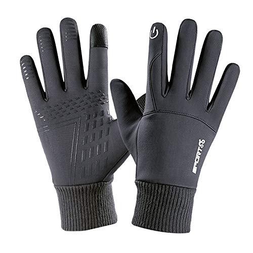 Akabsh Touch Screen Gloves Outdoor Waterproof Winter Gloves,Ski Snow Gloves Winter Warm, Winter Cycling Ski Outdoor Gloves Telefingers Gloves Waterproof Warm Gloves