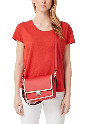 s.Oliver (Bags Damen 39.904.94.2055 Henkeltasche, Rot (Red), 7,5x15,5x22,5 cm