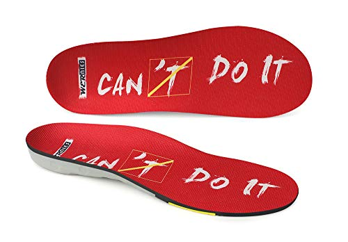 Red Size 4 Running Shoe Insoles-Arch Replacement Sports...