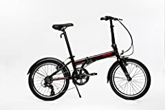 All Light Weight Aluminum Alloy - Frame, Handlebar, Stem, Seat post, Kickstand, Headset, Front & rear hub, Crank set, V-style brakes, Front and Rear Fenders and more Genuine Shimano Tourney 7-speed Derailleur, Shimano Revo 7-Speed Grip Style Shifter ...