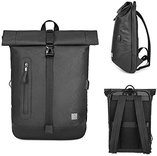 Bdesign Rucksack Laptop-Tasche, USB aufladbare Rucksack, Wasserdicht Leicht Geschäft und Freizeit Multifunktionales Männer Rucksack, Geeignet for 15,6-Zoll-Laptop (Color : C)