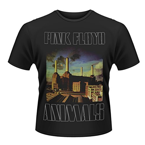 Pink Floyd Animals Roger Waters Dave Gilmour oficial Camiseta para hombre (X-Large)