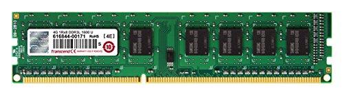 トランセンドジャパン デスクトップPC用メモリ PC3L-12800 DDR3L 1600 4GB 1.35V 低電圧 - 1.5V 両対応 240pin DIMM TS512MLK64W6H